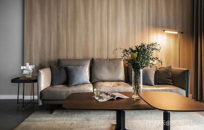 112平现代简约质感设计,营造低调细腻的家
