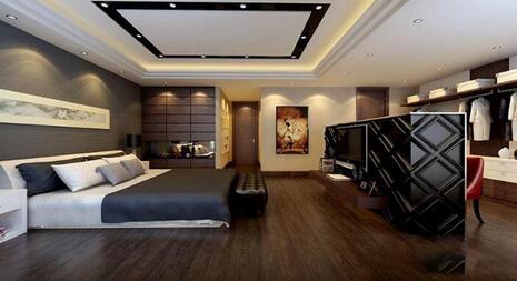 124平米的房子该怎么装修?现代风格二居室装修案例!