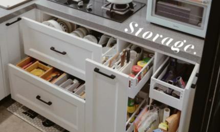 宜家收纳系统竟然这么厉害 来看看这个宝藏厨房