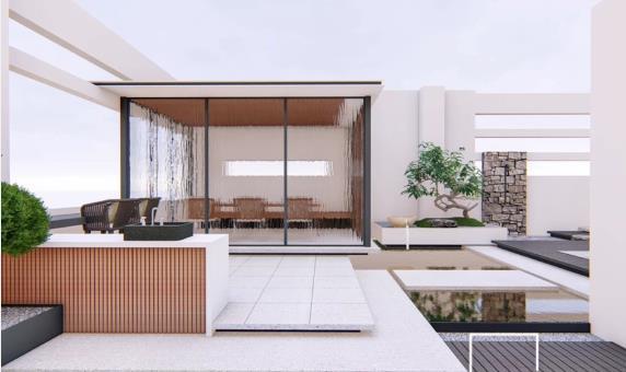 现代简约型屋顶花园设计 适合各个年龄段的设计方案