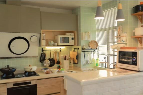 开放式厨房这样装修 开启无烟料理生活