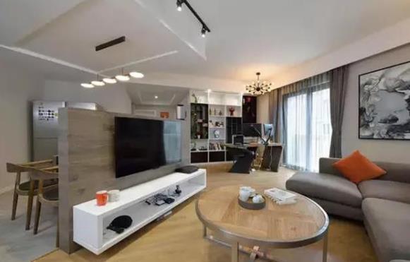 简约又大气的一百多平米新房装修案例,一起看看吧!