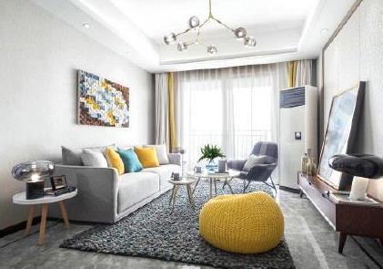 这套贵阳恒大帝景三居室的精美装修,居然只花4万元!