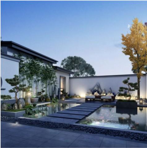 中式别墅设计丨与其生活在房子里,不如生活在院子里