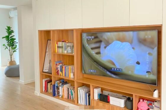 定制电视柜完成超级收纳任务,附柜子尺寸