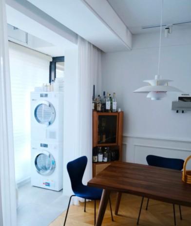 洗衣阳台:洗衣机+烘干机值得同时拥有