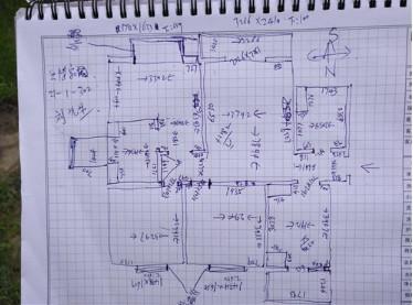 三室一厅电路布线图,100平水电改造费用