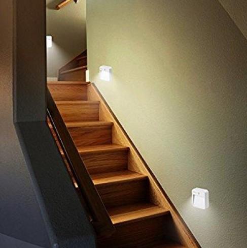楼梯感应灯安装方法,详细施工步骤介绍
